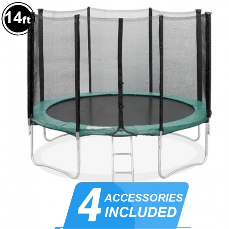 14ft Trampoline with net