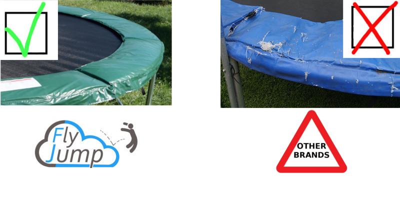 long life flyjump trampoline pad