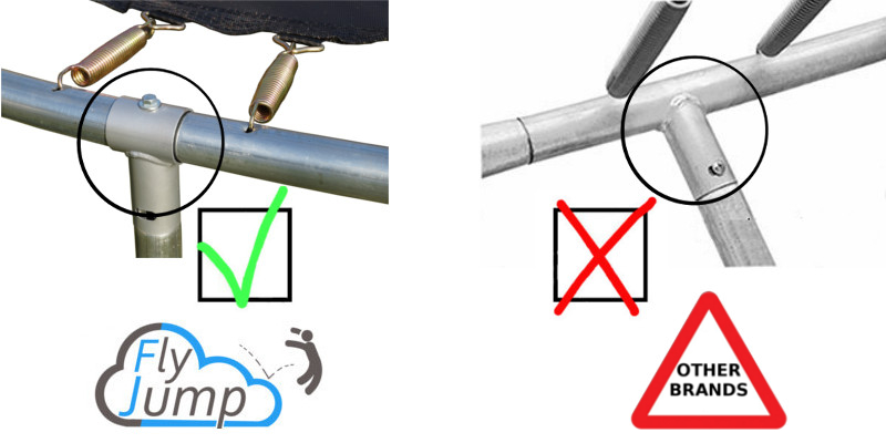 Seperate T Junction with locking screw